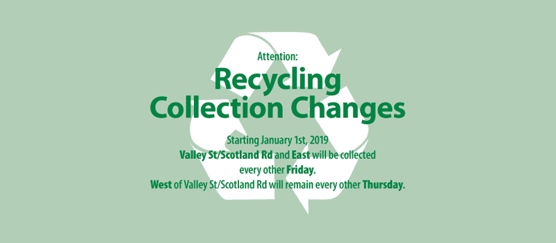 Recycling Collection Changes