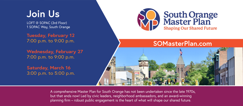 South Orange Master Plan Community Meeting