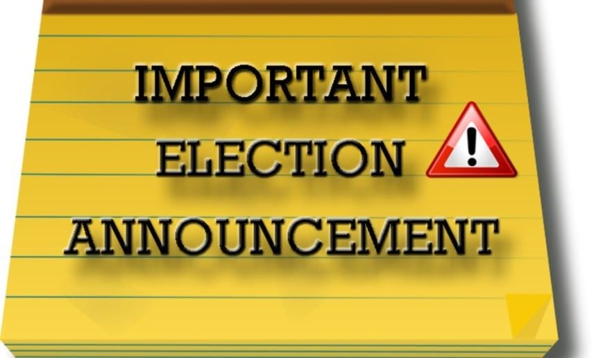 election announcement