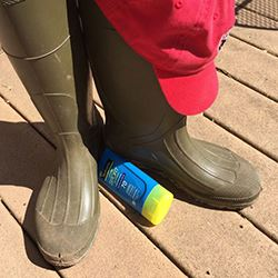 Boots, Hat, Sunscreen